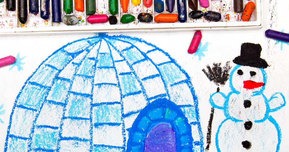 An igloo craft for all ages extra activities educatall for Crafts for all ages