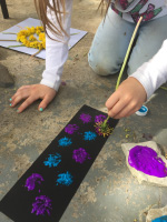 Arts & crafts with dandelions-2
