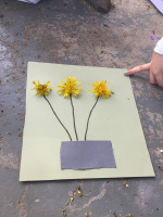 Arts & crafts with dandelions-3