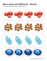 Educ-same and different-Germs