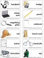 Word-flashcards-Detectives