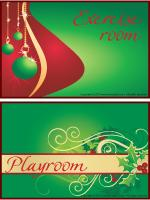Posters-Christmas-room-identification
