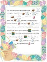 Picture clue - story Easter