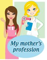 Poster - My mother's profession