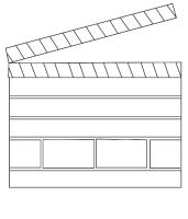 movie theme coloring pages - photo#1