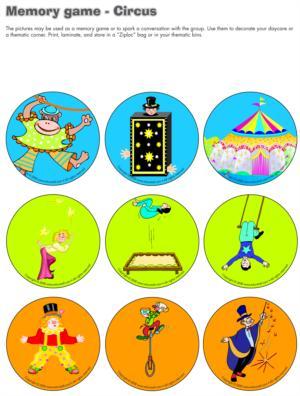 Circus-Memory Game