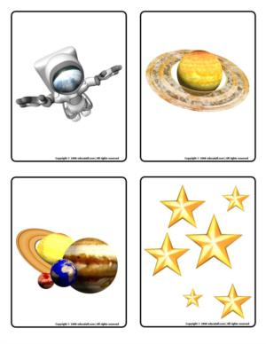 Planets - Picture game