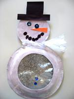 Snow Globe Snowman Arts And Crafts Educatall