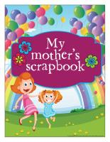 Scrapbook-My mom