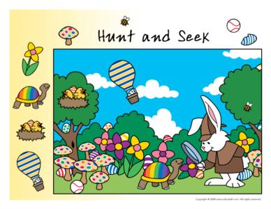 Easter-Hunt and seek