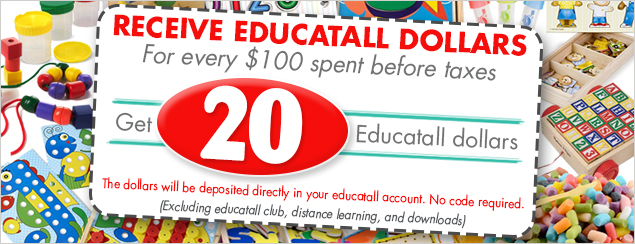 20 educatall dollars