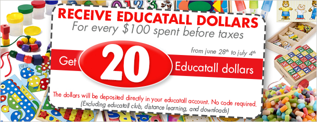 free educatall dollars