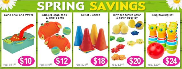 Spring Saving