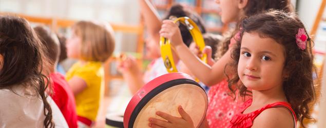 Musical awakening and young children