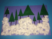 Triangle-filled forest-5