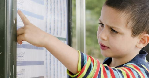 A visual weekly schedule for children who have special needs - Special needs - Educatall