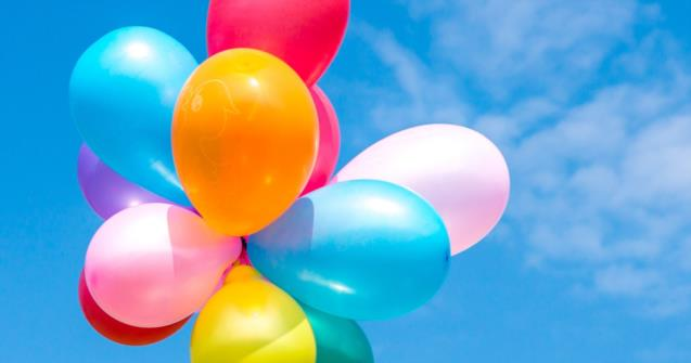 Balloons in the sky - Arts and crafts - Educatall