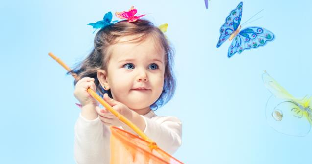 Butterflies - Babies and toddlers - Educatall