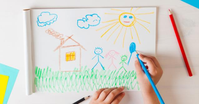 Drawing - Babies and toddlers - Educatall