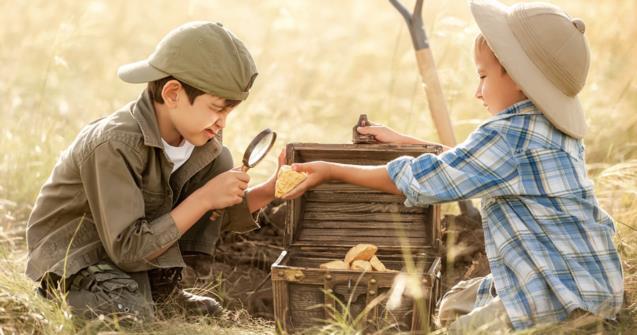 Treasure hunt - Babies and toddlers - Educatall
