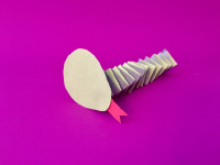 Accordion Fold Paper Snakes-4