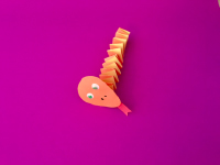 Accordion Fold Paper Snakes-5
