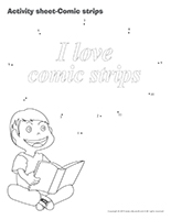 Activity-sheets-Comic strips
