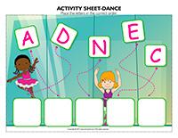 Activity-sheets-Dance