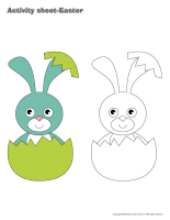 Activity sheets-Easter workbook-1