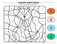 Activity-sheets-Foxes