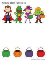 Activity sheets-Halloween booklet-1