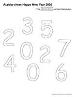 Activity-sheets-Happy New Year 2020