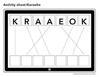 Activity-sheets-Karaoke