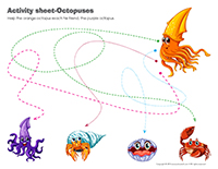 Activity-sheets-Octopuses