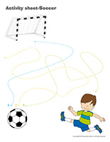 Activity sheets-Soccer
