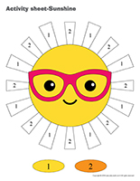 Activity-sheets-Sunshine