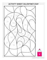 Activity-sheets-Valentine's Day Activity Book-1