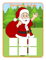 Association game-Christmas or camping-1