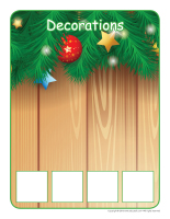 Association game-Christmas traditions-3