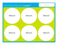 Attendance-chart