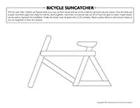 Bicycle suncatcher