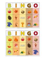 Bingo-Autumn