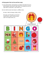 Bingo-Christmas traditions-1
