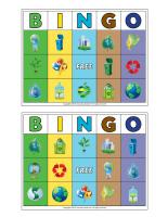 Bingo-Earth Day