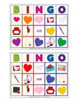 Bingo-Valentine's Day-Love letters