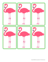Cake decorations-Flamingoes-1