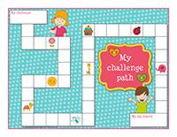 Challenge-path