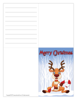 Christmas greeting card Color-1