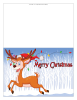 Christmas greeting card-Color