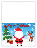 Christmas greeting card-Personalized Color-1